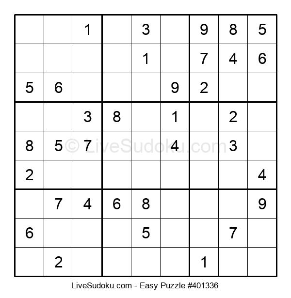 Beginners Puzzle #401336