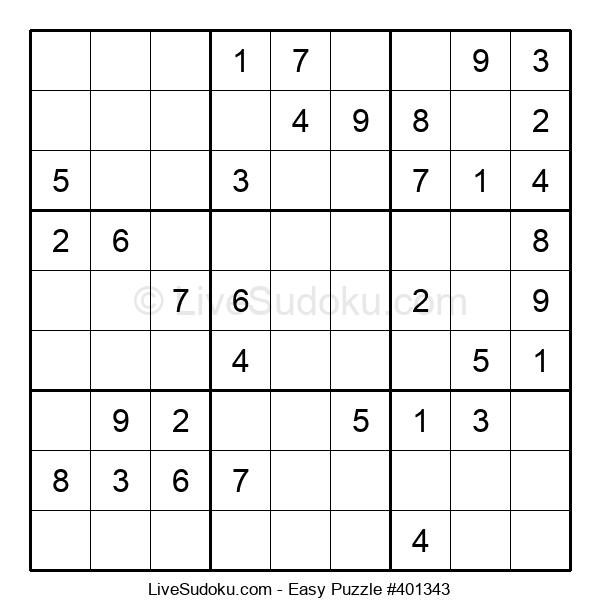 Beginners Puzzle #401343