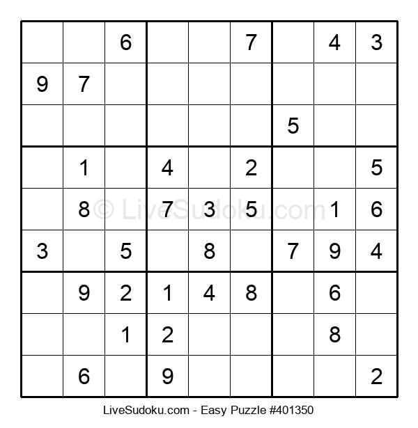 Beginners Puzzle #401350
