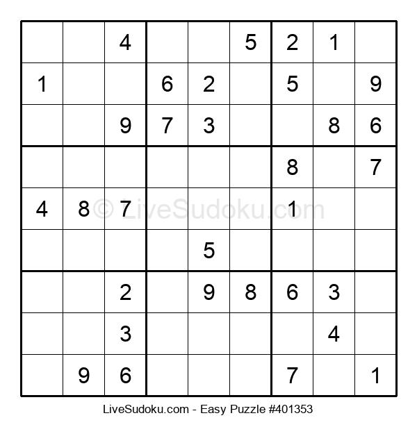 Beginners Puzzle #401353