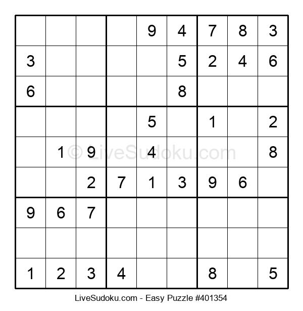 Beginners Puzzle #401354