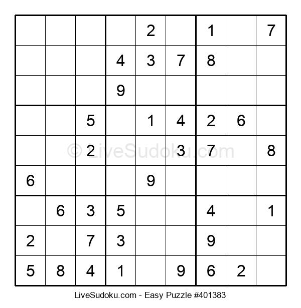 Beginners Puzzle #401383