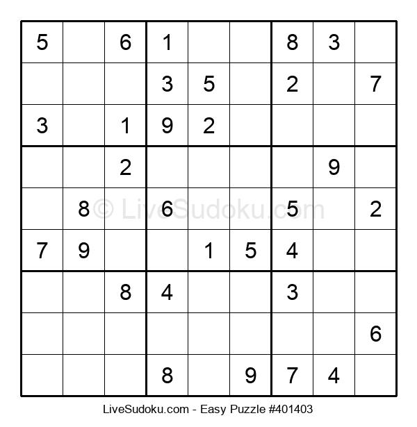Beginners Puzzle #401403