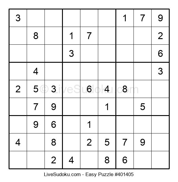 Beginners Puzzle #401405