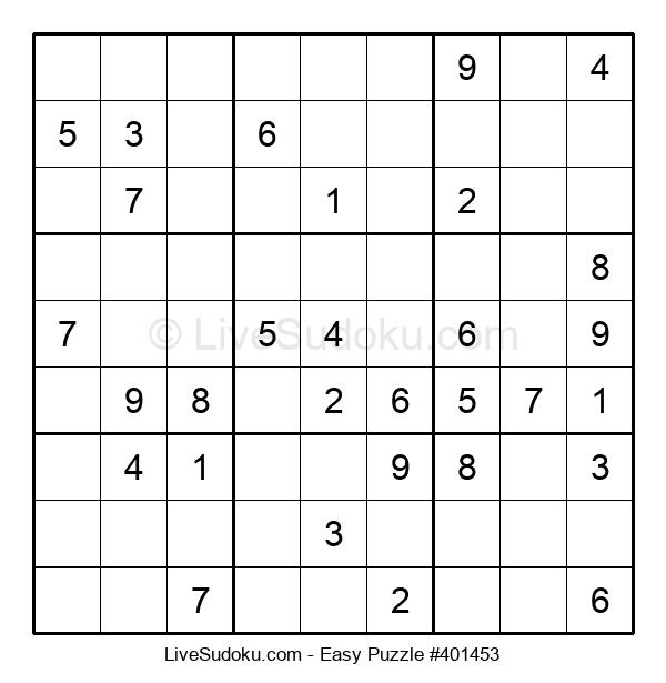 Beginners Puzzle #401453