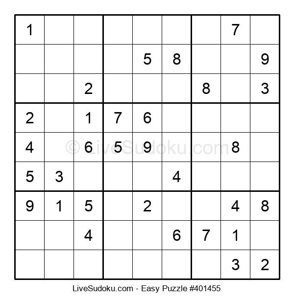 Beginners Puzzle #401455