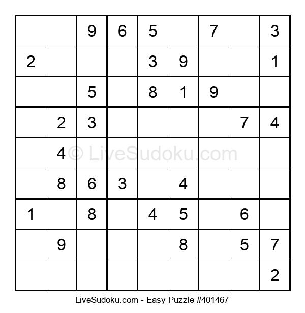 Beginners Puzzle #401467
