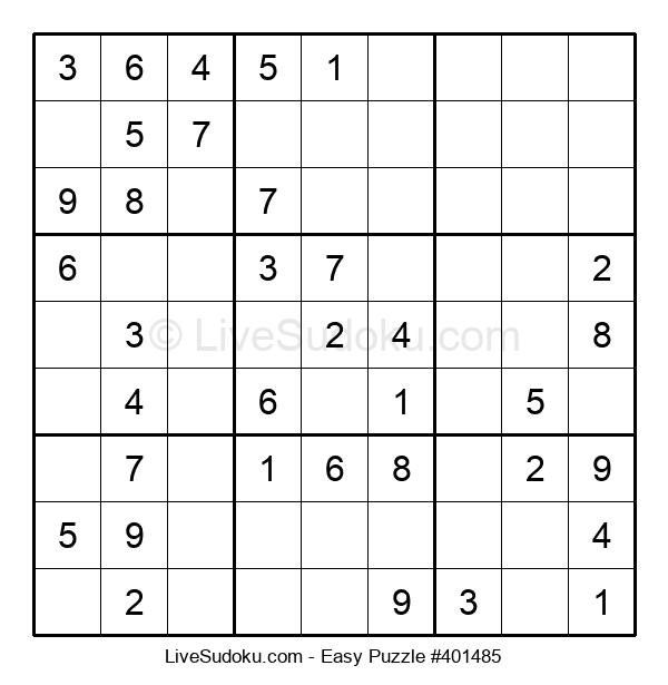 Beginners Puzzle #401485