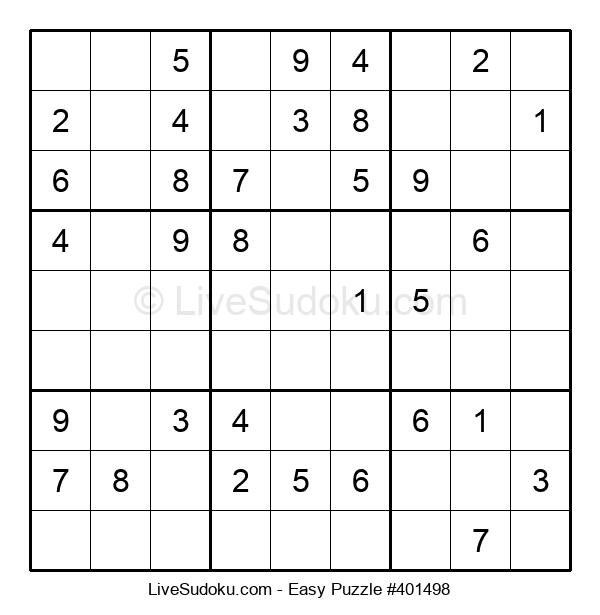 Beginners Puzzle #401498