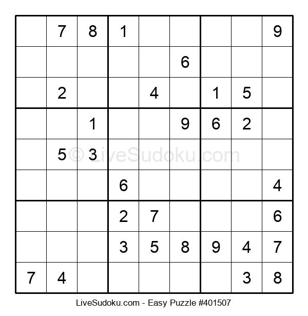 Beginners Puzzle #401507