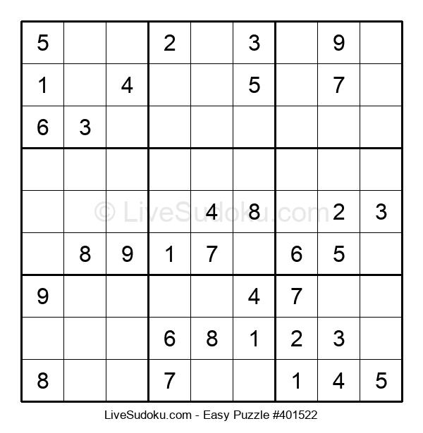 Beginners Puzzle #401522