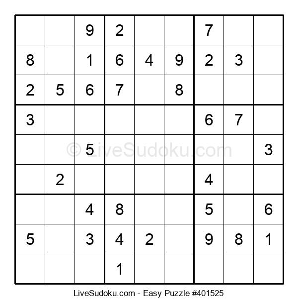 Beginners Puzzle #401525
