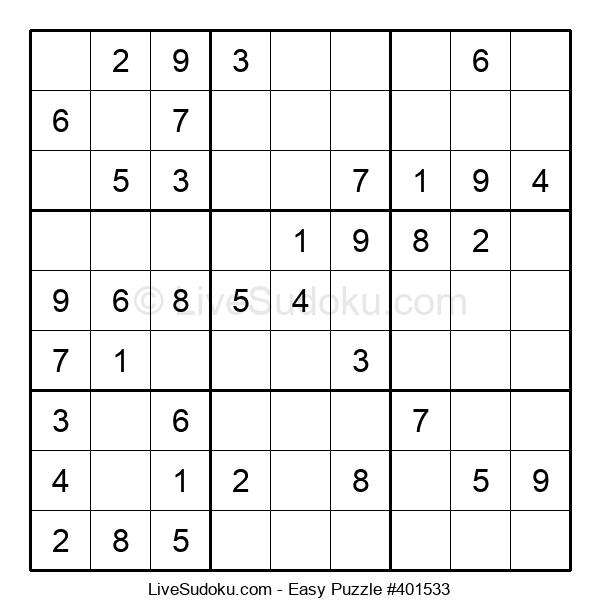 Beginners Puzzle #401533