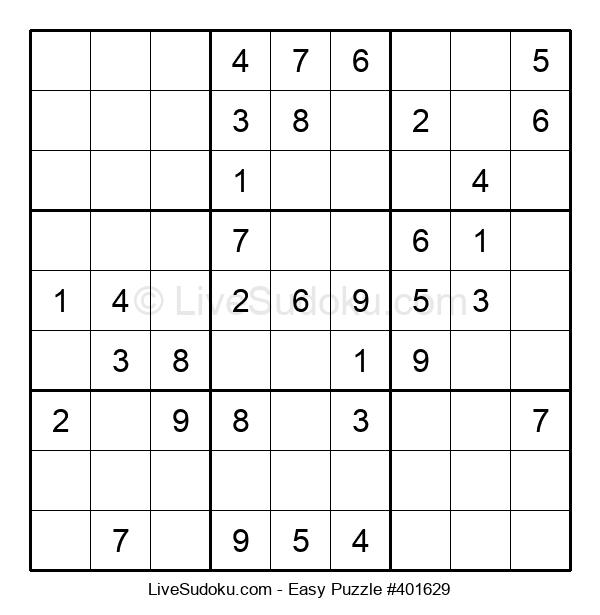 Beginners Puzzle #401629