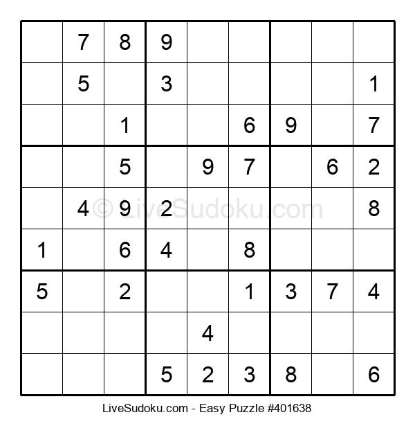 Beginners Puzzle #401638
