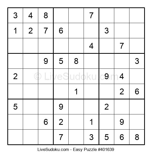 Beginners Puzzle #401639