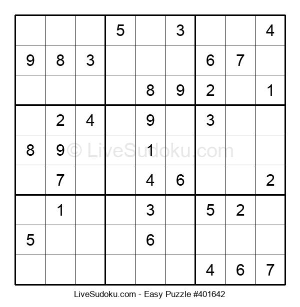Beginners Puzzle #401642