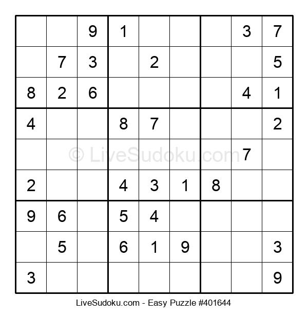 Beginners Puzzle #401644