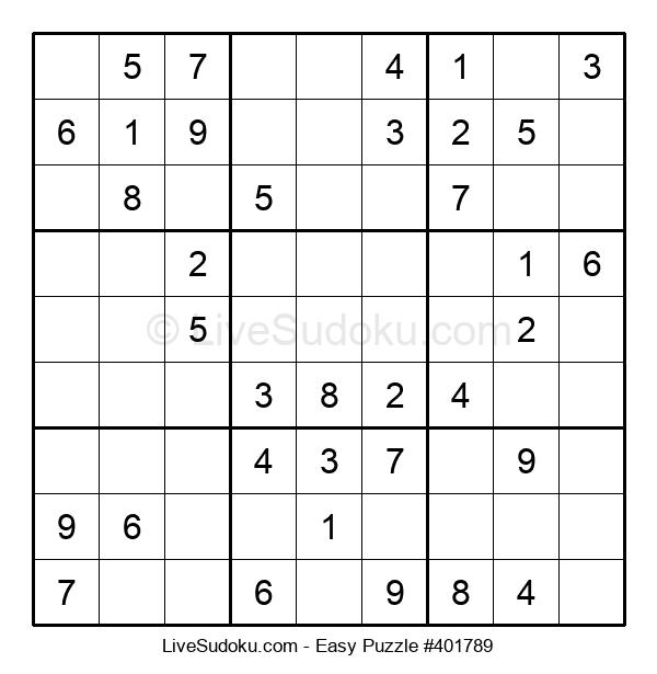 Beginners Puzzle #401789