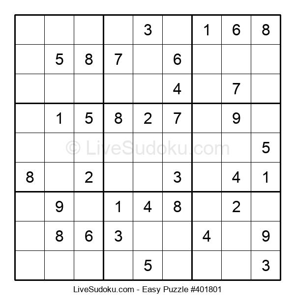 Beginners Puzzle #401801