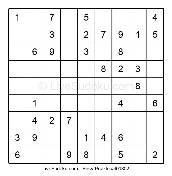 Beginners Puzzle #401802