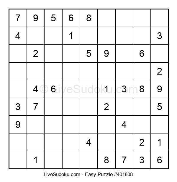 Beginners Puzzle #401808