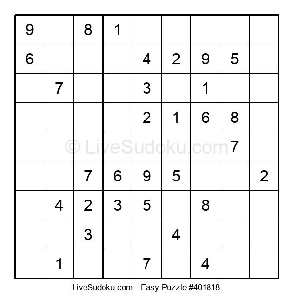 Beginners Puzzle #401818