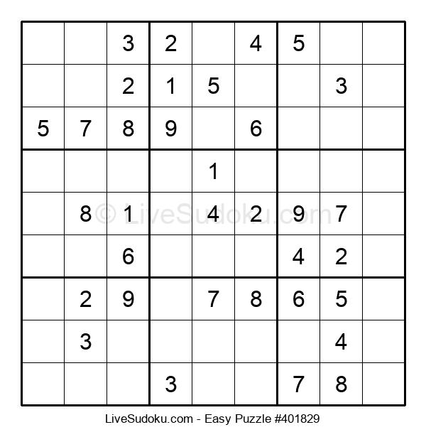 Beginners Puzzle #401829