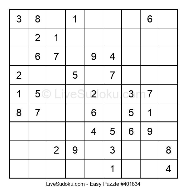 Beginners Puzzle #401834
