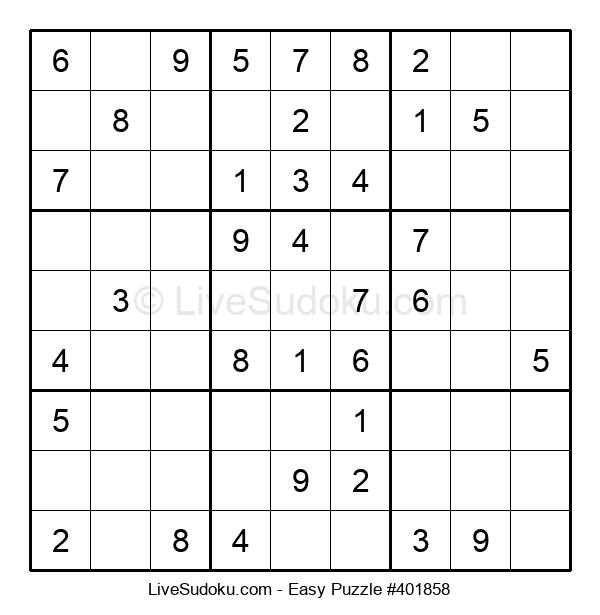 Beginners Puzzle #401858
