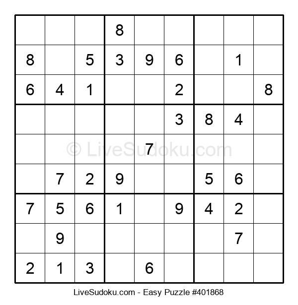 Beginners Puzzle #401868