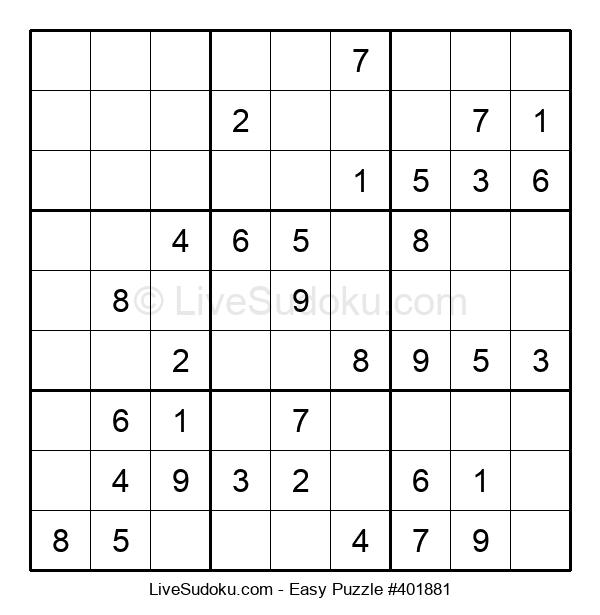 Beginners Puzzle #401881