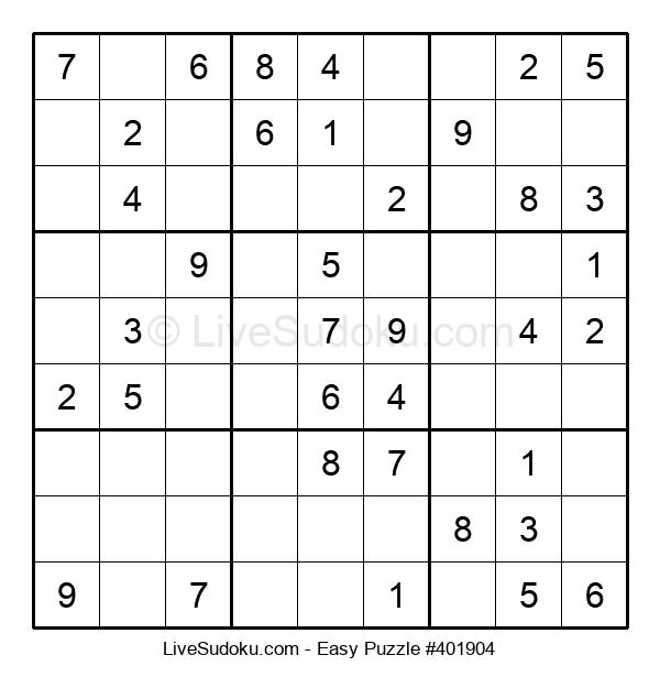 Beginners Puzzle #401904