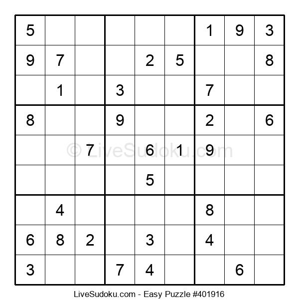 Beginners Puzzle #401916