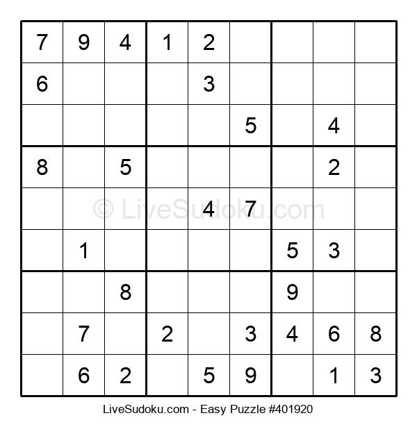 Beginners Puzzle #401920