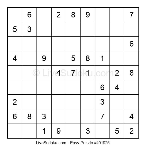 Beginners Puzzle #401925