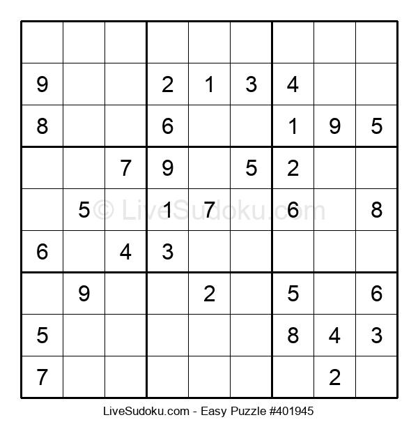 Beginners Puzzle #401945