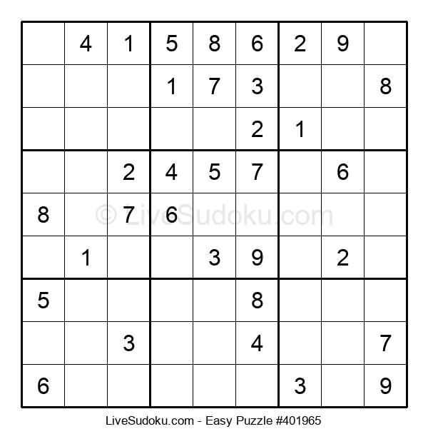 Beginners Puzzle #401965