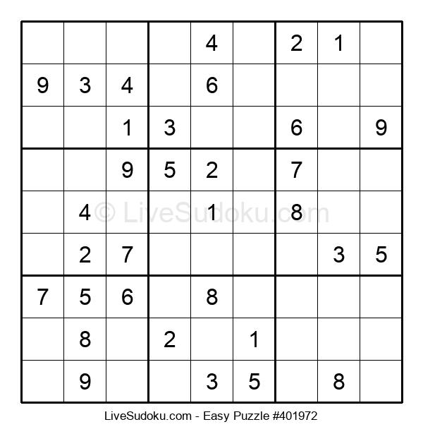 Beginners Puzzle #401972