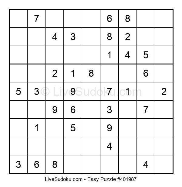 Beginners Puzzle #401987