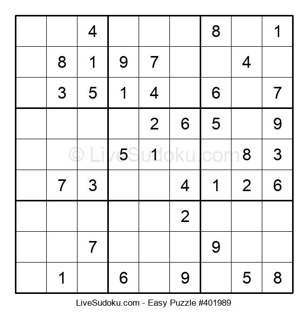 Beginners Puzzle #401989