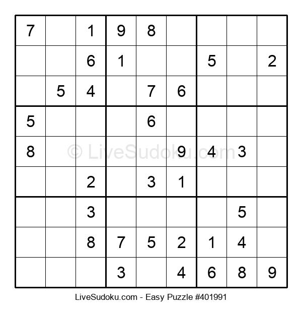 Beginners Puzzle #401991