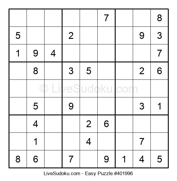 Beginners Puzzle #401996