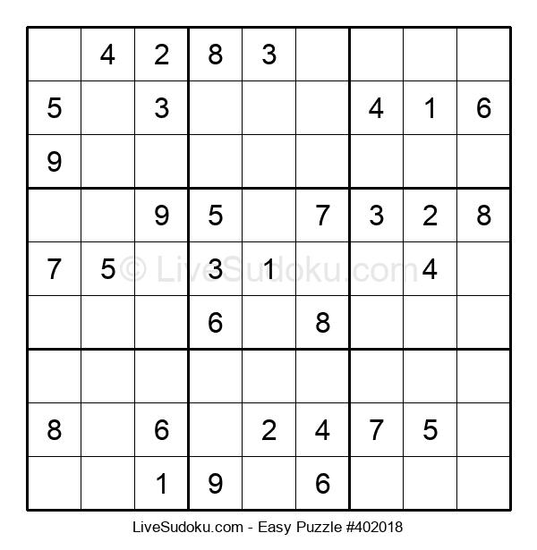Beginners Puzzle #402018