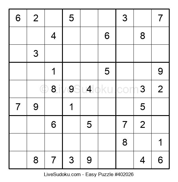 Beginners Puzzle #402026