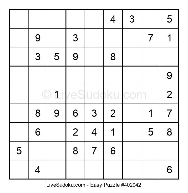 Beginners Puzzle #402042