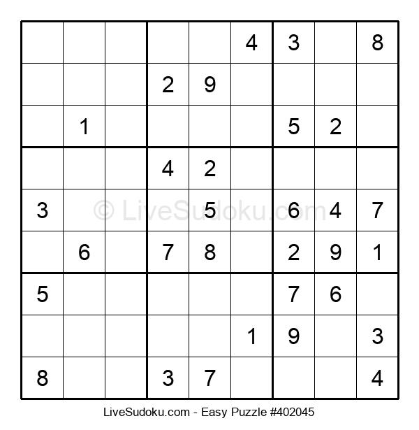 Beginners Puzzle #402045