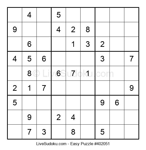 Beginners Puzzle #402051