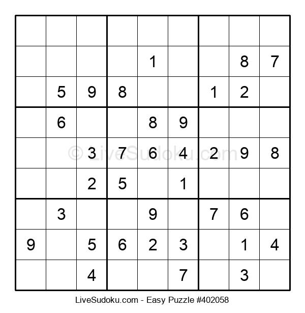 Beginners Puzzle #402058