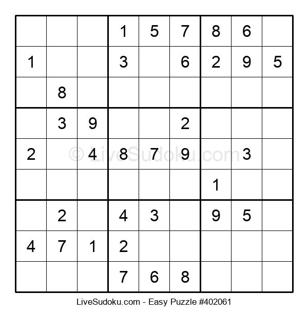 Beginners Puzzle #402061